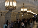 A tour of the famous metro stations in Moscow!